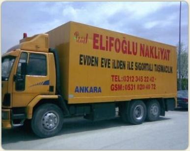 Elifoğlu Evden Eve Nakliyat Ankara