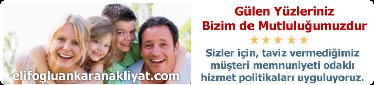 Ankara Ucuz Nakliyat Fiyatları